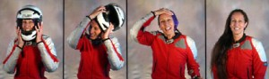 The Raci-Babi Diva-Do makes it easy to prevent helmet hair every time you ride your motorcycle
